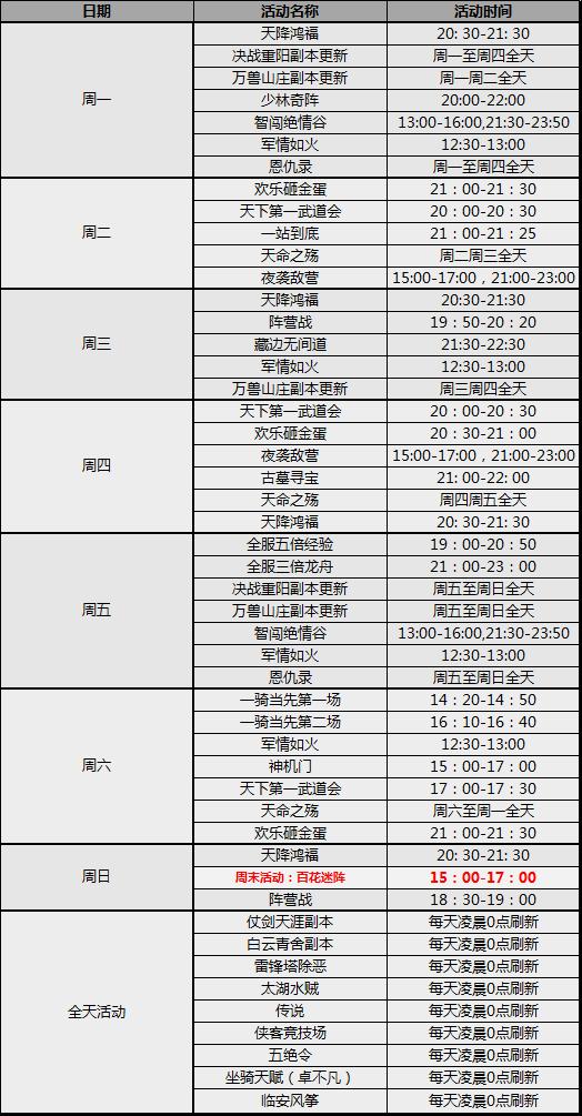 图片: 每周活动表-百花迷阵.png